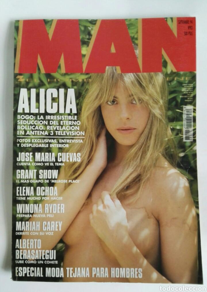 REVISTA MAN N 83 ALICIA BOGO WINONA RYDER (Coleccionismo - Revistas y Periódicos Modernos (a partir de 1.940) - Otros)