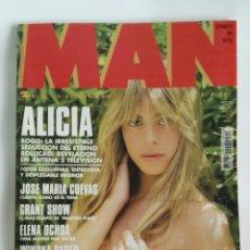 Coleccionismo de Revistas y Periódicos: REVISTA MAN N 83 ALICIA BOGO WINONA RYDER. Lote 179166041