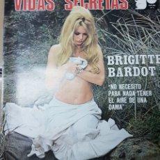 Coleccionismo de Revistas y Periódicos: VIDAS ÍNTIMAS BRIGITTE BARDOT PLAY GIRL N°2. Lote 179170587