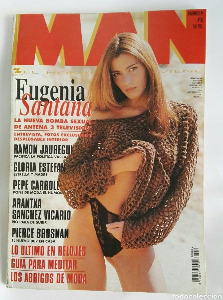 REVISTA MAN N 85 EUGENIA SANTANA PIERCE BROSNAN GLORIA ESTEFAN (Coleccionismo - Revistas y Periódicos Modernos (a partir de 1.940) - Otros)