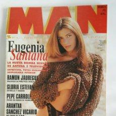 Coleccionismo de Revistas y Periódicos: REVISTA MAN N 85 EUGENIA SANTANA PIERCE BROSNAN GLORIA ESTEFAN. Lote 179171102