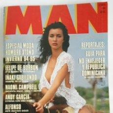 Coleccionismo de Revistas y Periódicos: REVISTA MAN N 84 ARANCHA DEL SOL NAOMI CAMPBELL. Lote 179208723
