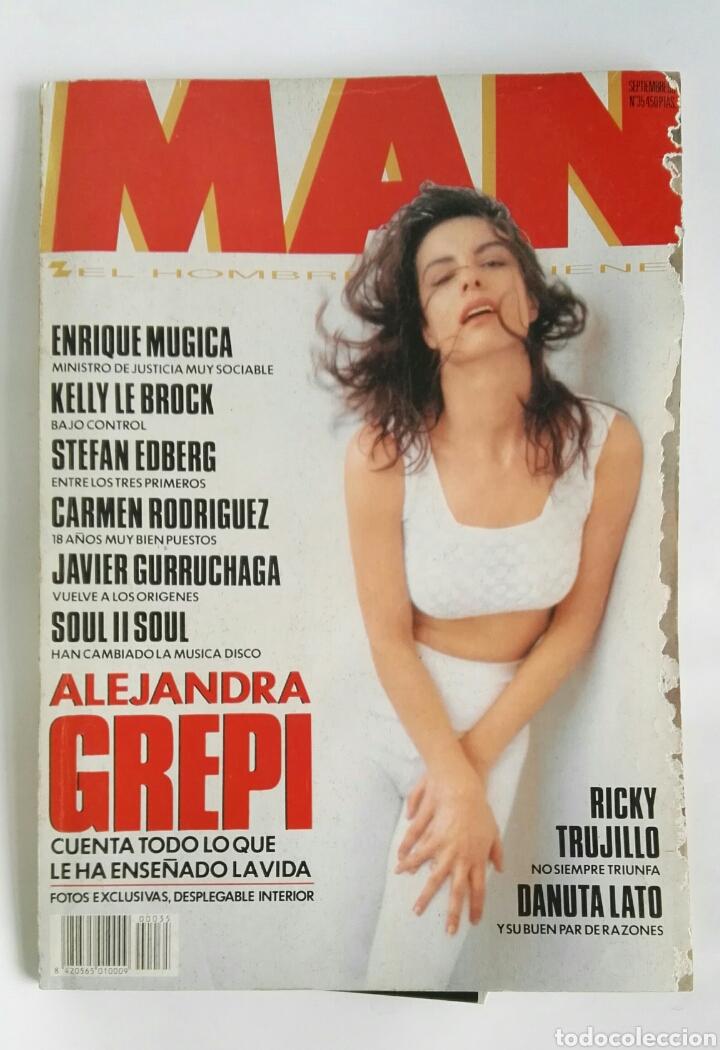 REVISTA MAN N 35 ALEJANDRA GREPI (Coleccionismo - Revistas y Periódicos Modernos (a partir de 1.940) - Otros)