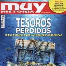 Coleccionismo de Revistas y Periódicos: MUY HISTORIA N. 77 - EN PORTADA: TESOROS PERDIDOS (NUEVA). Lote 179221235