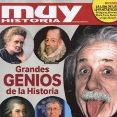 Coleccionismo de Revistas y Periódicos: MUY HISTORIA N. 67 - EN PORTADA: GRANDES GENIOS DE LA HISTORIA (NUEVA). Lote 179221673