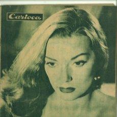 Coleccionismo de Revistas y Periódicos: CARIOCA. AÑO XII-Nº 601- 10-4-1947. Lote 179232500