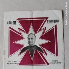 Coleccionismo de Revistas y Periódicos: BOLETIN PARROQUIA DE SAN JOSE DE AGUILAS MURCIA, Nº 7 JULIO 1952. Lote 179237018
