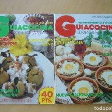 Coleccionismo de Revistas y Periódicos: LOTE 2 REVISTAS GUIACOCINA (AÑOS 80) NOS. 12 Y 26. Lote 179309466