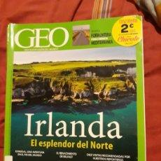 Coleccionismo de Revistas y Periódicos: REVISTA GEO Nº 349 - IRLANDA. Lote 179325412