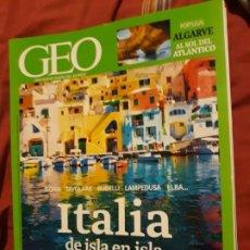 Coleccionismo de Revistas y Periódicos: REVISTA GEO Nº 351 - ITALIA DE ISLA EN ISLA. Lote 179325526