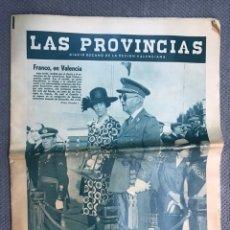 Coleccionismo de Revistas y Periódicos: PERIODICO. LAS PROVINCIAS. DIARIO DECANO DE LA REGIÓN VALENCIANA. FRANCO, EN VALENCIA (A.1972). Lote 179338687