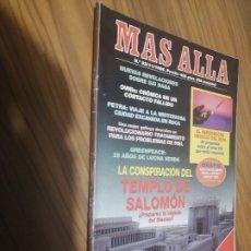 Coleccionismo de Revistas y Periódicos: MÁS ALLÁ 93. REVISTA DE MISTERIO. GRAPA. BUEN ESTADO. Lote 179374890
