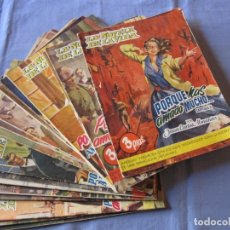 Coleccionismo de Revistas y Periódicos: LOTE DE 21 EJEMPLARES DE LA REVISTA NOVELA DE LA VIDA. Lote 179390755