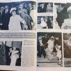 Coleccionismo de Revistas y Periódicos: ESTEFANIA CAROLINA DE MONACO GRACE KELLY. Lote 179525097