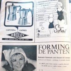 Coleccionismo de Revistas y Periódicos: ANUNCIO PANTENE SORAS . Lote 179525320