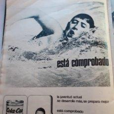 Coleccionismo de Revistas y Periódicos: ANUNCIO COLACAO COLA CAO. Lote 179525407