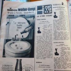 Coleccionismo de Revistas y Periódicos: ANUNCIO SIDOL WATER LIMP. Lote 179526108