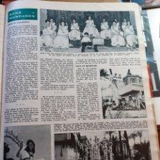 Coleccionismo de Revistas y Periódicos: REINA DE LAS FIESTAS DE LERIDA PALMA DEL CONDADO CRUCES DE MAYO. Lote 179526856