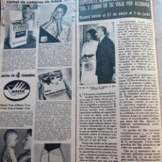 Coleccionismo de Revistas y Periódicos: FARAH DIBA EL SHA DE PERSIA. Lote 179527402