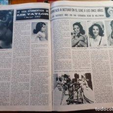 Coleccionismo de Revistas y Periódicos: ELIZABETH TAYLOR LIZ. Lote 179527468