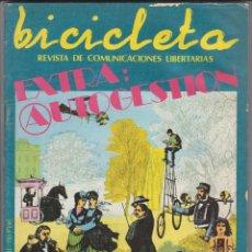 Coleccionismo de Revistas y Periódicos: REVISTA BICICLETA, COMUNICACIONES LIBERTARIAS, NÚMERO DOBLE 17/18 A 20-27-29-30-32, AÑOS 70. Lote 179550858