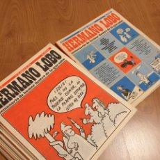 Coleccionismo de Revistas y Periódicos: HERMANO LOBO - AÑO 1974 - AÑO III - LOTE DE 28 NÚMEROS. Lote 179551741