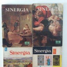 Coleccionismo de Revistas y Periódicos: LOTE 4 REVISTAS SINERGIA. NÚMEROS 1, 2, 8 Y 22.. Lote 179554468