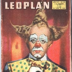 Coleccionismo de Revistas y Periódicos: 1953 LEOPLAN # 447 EL CIRCO LOLA FLORES MARIA FELIX EN MADRID CARMEN SEVILLA MIK FERDIN´AND. Lote 179558931