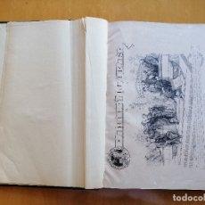 Coleccionismo de Revistas y Periódicos: ARTE Y LETRAS, REVISTA ILUSTRADA 1882-83,15 NÚMEROS PUBLICADOS Y SUS LÁMINAS DE REGALO EN UN VOLUMEN. Lote 179953665