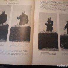 Coleccionismo de Revistas y Periódicos: SEGISMUNDO MORET - MEETING EN ZARAGOZA - 2 PAGINAS AÑO 1897 -. Lote 179960678