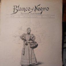 Coleccionismo de Revistas y Periódicos: TIPOS MADRILEÑOS - DE LA COMPRA , POR MENDEZ BRINGA - HOJA REVISTA AÑO 1897. Lote 179962262