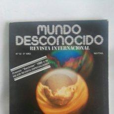 Coleccionismo de Revistas y Periódicos: REVISTA MUNDO DESCONOCIDO N 52 LOS ESPEJOS MÁGICOS. Lote 180011801