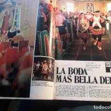 Coleccionismo de Revistas y Periódicos: CON LOS LAPONES EN EL CIRCULO POLAR ARTICO -REPORTAJE DE 8 PAGINAS DE LAPONIA - AÑO 1971 . Lote 180013333