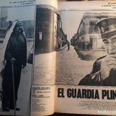 Coleccionismo de Revistas y Periódicos: TOMELLOSO PARTICIPA EN LA SERIE EL GUARDA PLINIO DE TELEVISION - REPORTAJE AÑO 1971 - 5 PAGINAS. Lote 180013873