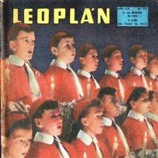 Coleccionismo de Revistas y Periódicos: 1954 LEOPLAN # 474 MAIGRET GEORGES SIMENON EDWARD ROWE SNOW GATICA 40 AÑOS POLICIA MIK FERDIN´AND. Lote 180014223
