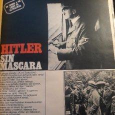 Coleccionismo de Revistas y Periódicos: HITLER SIN MASCARA , REPORTAJE SOBRE EL LIBRO DE EDWARD CALIC - 5 PAGINAS - AÑO 1971. Lote 180015400