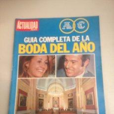Coleccionismo de Revistas y Periódicos: REVISTA ACTUALIDAD. Lote 180034303