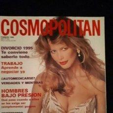 Coleccionismo de Revistas y Periódicos: REVISTA COSMOPOLITAN. PORTADA CLAUDIA SCHIFFER. 1995. Lote 180082875