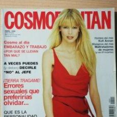Coleccionismo de Revistas y Periódicos: REVISTA COSMOPOLITAN. CLAUDIA SCHIFFER. PORTADA 1998. Lote 180082955