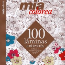 Coleccionismo de Revistas y Periódicos: MIA COLOREA N. 3 - 100 LAMINAS ANTIESTRES (NUEVA). Lote 180106337
