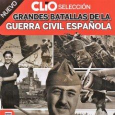 Coleccionismo de Revistas y Periódicos: CLIO SELECCION N. 5 - GRANDES BATALLAS DE LA GUERRA CIVIL ESPAÑOLA (NUEVA). Lote 180107193
