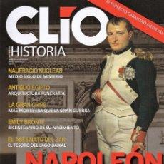 Coleccionismo de Revistas y Periódicos: CLIO HISTORIA N. 201 - EN PORTADA: NAPOLEON, SU CONQUISTA DE ESPAÑA (NUEVA). Lote 180107291