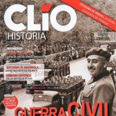 Coleccionismo de Revistas y Periódicos: CLIO HISTORIA N. 199 - EN PORTADA: GUERRA CIVIL, LA CONJURA DE CASADO (NUEVA). Lote 180107322