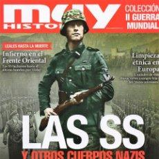 Coleccionismo de Revistas y Periódicos: MUY HISTORIA COLECCION II GUERRA MUNDIAL N. 23 - LAS SS Y OTROS CUERPOS NAZIS (NUEVA). Lote 180107555