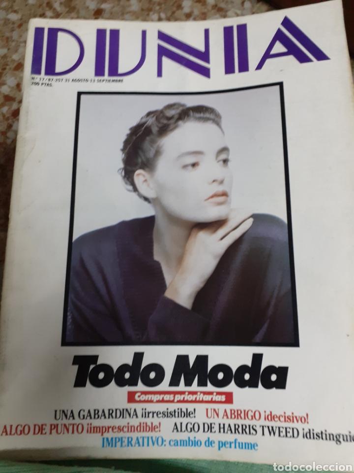 REV.NÚM.17/87 DUNIA.- TODO MODA.- TENDENCIAS 87.- BELLEZA, SALUD, MUJERES CON CLASE,COCINA. (Coleccionismo - Revistas y Periódicos Modernos (a partir de 1.940) - Otros)
