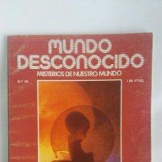 Coleccionismo de Revistas y Periódicos: REVISTA MUNDO DESCONOCIDO N° 19 OVNIS. Lote 180142045