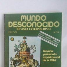 Coleccionismo de Revistas y Periódicos: REVISTA MUNDO DESCONOCIDO N° 53 ASÍ SE ABANDONA EL CUERPO. Lote 180142681