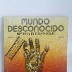 Coleccionismo de Revistas y Periódicos: REVISTA MUNDO DESCONOCIDO N° 54 QUIROMANCIA. Lote 180142911