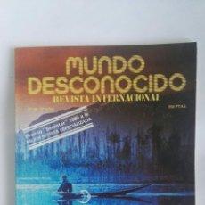 Coleccionismo de Revistas y Periódicos: REVISTA MUNDO DESCONOCIDO N° 49 PUMA PUNKU. Lote 180143161