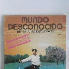 Coleccionismo de Revistas y Periódicos: REVISTA MUNDO DESCONOCIDO N° 57 BUDO. Lote 180143406